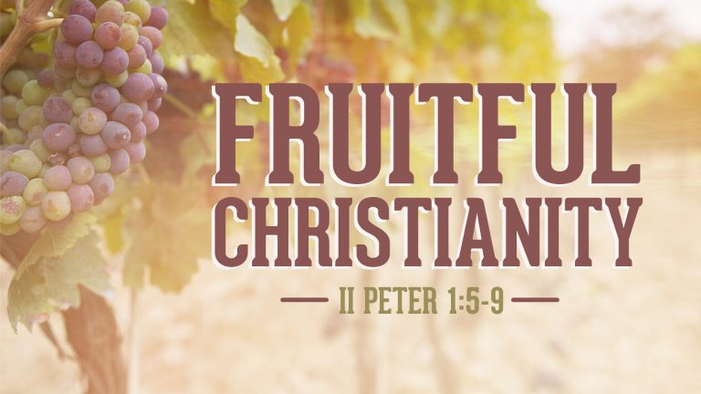 Fruitful Christianity